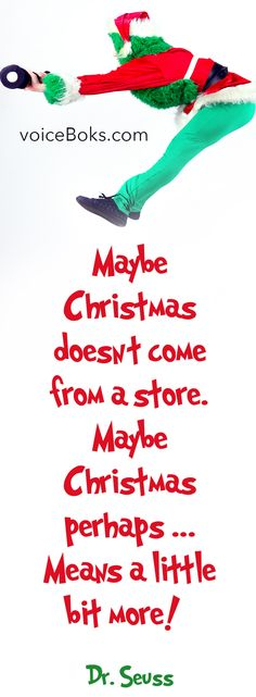 Maybe Christmas doesn't come from a store.