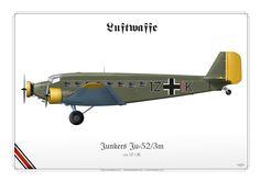 LUFTWAFFE (WW2) Junkers Ju-52/3m 1Z+IK