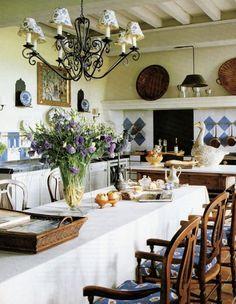 sala da pranzo stile provenzale 16