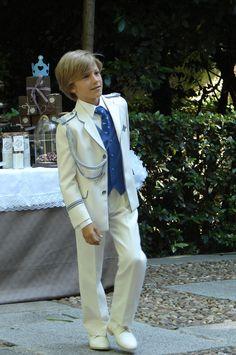 Clásica vanguardia en los trajes de Comunión 2015 para niños: Clásicos muy actualizados