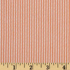 Kaufman Classic Seersucker Stripes Orange/White from @fabricdotcom  From Kaufman Fabrics, this very lightweight woven cotton blend seersucker fabric is light and summery. Made with combed cotton, this versatile fabric is perfect for stylish summer suits, dresses, heirloom projects, children's apparel. It can also be used for lightweight curtains, home décor accents and even bedding accessories.