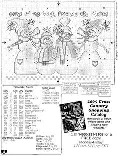 Free Christmas Cross Stitch Patterns   Found on picasaweb.google.com