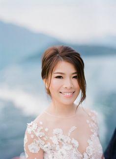 Portrait Beautiful Villas, Lake Como, Brides, Bloom, Fine Art, Portrait, Film, Wedding Dresses, Fashion