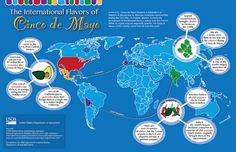 The Best Sites For Teaching & Learning About Cinco de Mayo Spanish Basics, Spanish Class, Agriculture Facts, Spanish Holidays, Urbana Champaign, Latin American Food, Spanish Culture, Holidays Around The World, Best Sites
