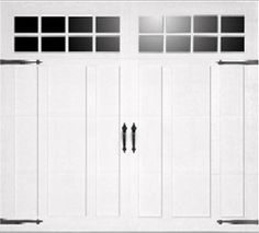 I really like the look of the horizontal opening garage doors like this. It really reminds me of a cozy old fashioned barn style home. We currently have a 5 panel overhead door and want to update this one.
