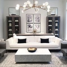 I popped into Restoration Hardware today and discovered that they have lightened - All For Decoration Living Room Interior, Home Living Room, Home Interior Design, Living Room Designs, Living Room Decor, Dining Room, Living Room Inspiration, Home Decor Inspiration, Formal Living Rooms
