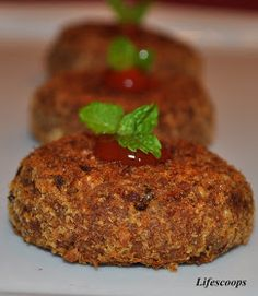 Life Scoops: Baked Meat Cutlet (Croquette)