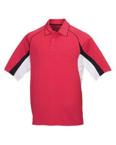 Tri-Mountain Ultracool 100% Polyester Pique Polo Shirt. Tri mountain 018
