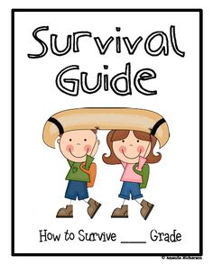 End of the year activity: write a survival guide for the new students coming in. Did this the past 2 years for a bulletin board. Very cute!