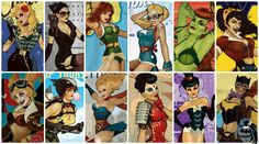 dc bombshells covers - Google Search