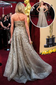 The Best Red Carpet Gowns From the Back