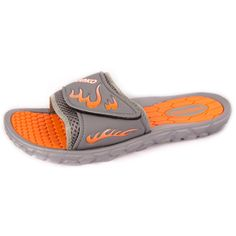 11948ae8a Men s Fashion Slide SandalsThese men s sandals come in 3 assorted colors. Colors Navy Black GreySizes