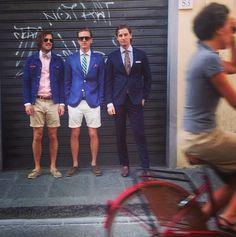 Pitti Uomo Summer 2013, Florence Credit: johnhenric Instagram