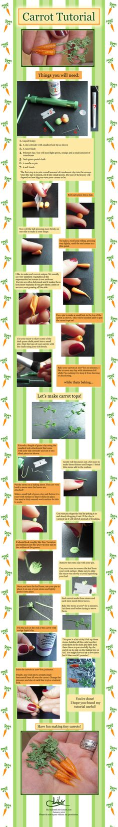 Super Long Carrot Tutorial by *lily-inabottle on deviantART