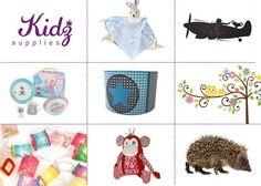 Kidzsupplies is dé shop voor originele en kwalitatief hoogwaardige baby- en kinderkamer accessoires. Je vindt er o.a. stijlvolle kinderlampen, decoratief speelgoed en muurstickers.