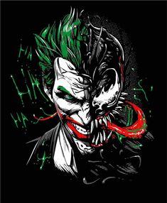 Drawing Marvel Comics Check out this awesome 'Joker Venom' design on Joker Iphone Wallpaper, Joker Wallpapers, Marvel Wallpaper, Hd Wallpaper, Joker Cartoon, Joker Batman, Photos Joker, Joker Images, Joker Und Harley