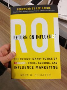 """""""This is amazing. A whole book on klout! I can't really believe it."""" -- via Joe Fernandez"""