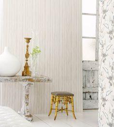 Rustic Living   Stripe Design Wallpaper by Camengo   Jane Clayton