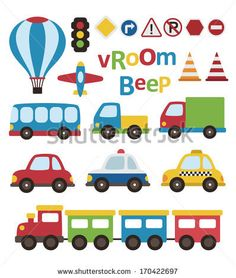 Find Cute Vehicle Collection Vector Illustration stock images in HD and millions of other royalty-free stock photos, illustrations and vectors in the Shutterstock collection. Car Drawing Kids, Boys Quilt Patterns, Car Themes, Boy Quilts, Love Stickers, Clipart, 2nd Birthday, Character Design, Vehicles
