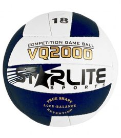 Volleyball Color Availability :Blue & white Size : 18 Panels  Type :Professional Volleyball