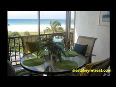 Crescent Royale Condominiums #SiestaKey Apartment 508 Lanai Siesta Key Beach, Outdoor Furniture Sets, Outdoor Decor, Lanai, Condominium, Windows, Home Decor, Decoration Home, Room Decor