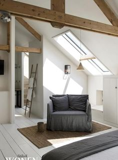 Nice windows, good storage and good use of space with the en suite and that little bench under the window.