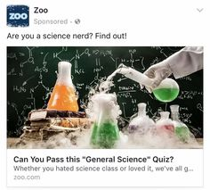 Judging by the board, the author can't pass this quiz