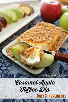 diy, recipe and craft recap! Check out what we did this week! Caramel Apple Toffee