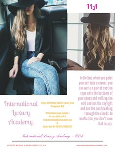 International Luxury Academy - ILA Magazine! Understand what is a best Luxury and top brands!!