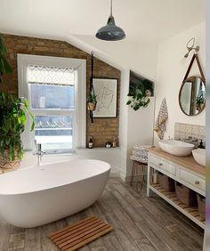 Boho Bathroom Ideas that will Feel you Magnificent Elegant Home Decor, Elegant Homes, Budget Home Decorating, Apartments Decorating, Decorating Bedrooms, Bedroom Decor, Decorating Ideas, Decor Ideas, Boho Bathroom