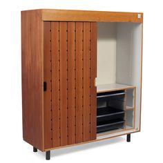 Charlotte Perriand wardrobe cabinet, France,