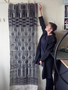 Woven by Marilyn Piirsalu with 8-module RailReed Loom Weaving, Loom Knitting, Loom, Weaving