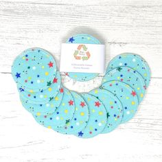 Cotton Facial Rounds Set of 10 / Face Cloth / Make-up Remover / Reusable Cotton Pads / Facial Scrubbies / Washable Cotton Pads by GingerGreenCo on Etsy Cotton Pads, Cotton Towels, Period Pads, Cloth Pads, Make Up Remover, Eye Makeup Remover, Fabric Softener, Wash Your Face, Biodegradable Products