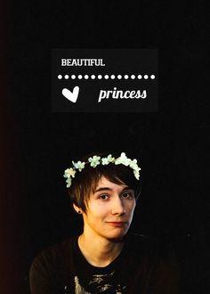 Danisnotonfire aka the most pretty pretty princess ever
