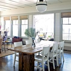 Dining Space - 2010 Ultimate Beach House  - Coastal Living