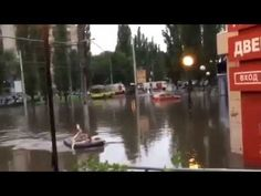 exclusive crazy flood Russia City Lipetsk 19 06 2016