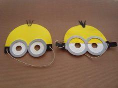 Bildergebnis für minion patron gafas y pantalones Minions Birthday Theme, Minion Theme, Minion Party, Birthday Parties, Minion Mask, Minion Craft, Diy And Crafts, Crafts For Kids, Paper Crafts