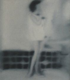 Gerhard Richter » Art » Paintings » Photo Paintings » Woman in Bathroom » 80-2