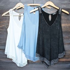soft boho tank top (more colors)