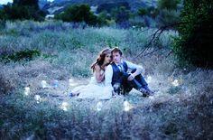 twilight inspired wedding portrait...