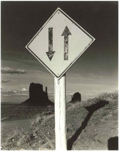 Bob Kolbrener Photography Arrows, Monument Valley, AZ, 1980 by Bob Kolbrener (Gelatin Silver Print)