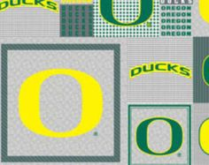University of Oregon Ducks Retro Apron Made to order by bellalise