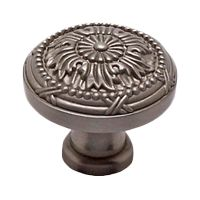 "Manufacturer:  Berenson  #8255-1BPN  	       	           Category:  Intricate Knobs ,  Surface Design Round Knobs    Finish:  Brushed Nickel    Material: Zinc   Style: Artisan Inspired   Collection:  Toccata  		 View entire Collection Toccata         Dimensions:       		  Diameter: 32"" (813mm)   Height: 1-1/16"" (27mm)   Base Diameter: 9/16"" (14mm)   Screw Tap: 8-32             Brushed Nickel sports a dark silver color. Brushed Nickel is the color you would find on an aged ..."