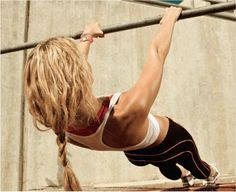 Summer goal: do at least one good pull up. I'll probably start out with Australian pull ups like the one shown.