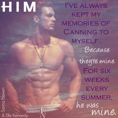 Him by Sarina Bowen & Elle Kennedy Elle Kennedy, Book Boyfriends, My Memory, Book Characters, Book Stuff, Book Quotes, Teaser, Logan, Redheads