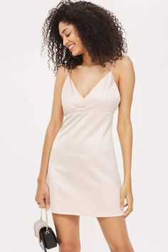 3e4b3d2d5276 Diamante Strap Mini Slip Dress - Shop All