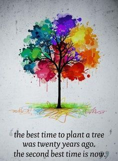 this tree art would look great for bible journaling plant a tree