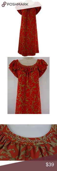 Selling this Size 14 BEADED/RUFFLE NECKLINE BABYDOLL DRESS in my Poshmark closet! My username is: sexycurvygirls. #shopmycloset #poshmark #fashion #shopping #style #forsale #Dress Barn #Dresses & Skirts