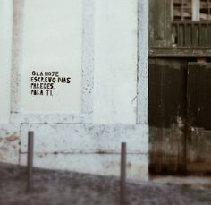 Hello. Today i write On the walls for you #lisbon #portugal