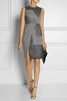 Vestido gris desectructurado